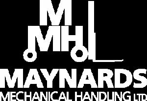 Maynard's Mechanical Handling logo in white